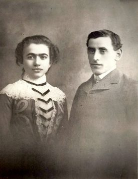 Anuta approx age 15 and Zodak wedding picture sm