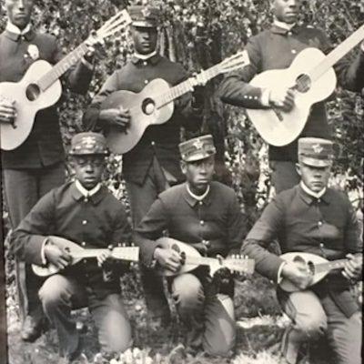 Old Time Mandolins|Black Mandolin players