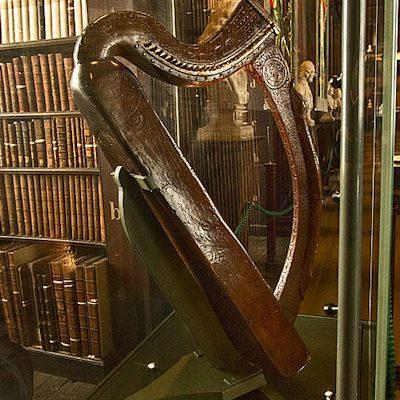 Brian Boru Harp and Guiness Logo|Brian Boru Harp