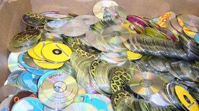 Bunch of CDs