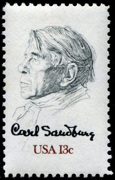 Carl Sandburg stamp