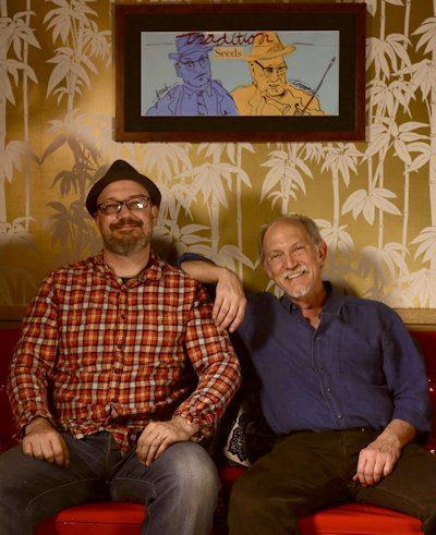 David Bragger and Bruce Molsky