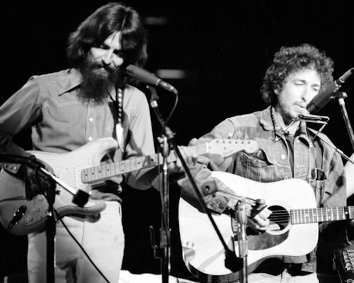 George Harrison and Bob Dylan Concert for Bangladesh
