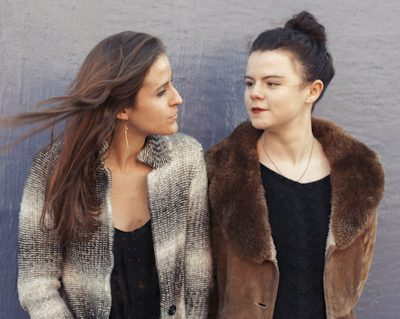 Jenna Moynihan and Màiri Chaimbeul