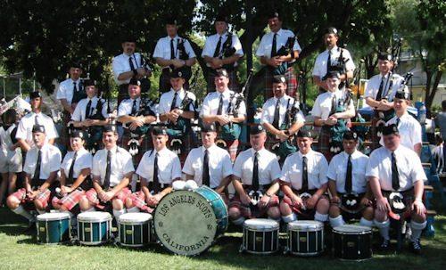 LA_Scots_Band