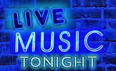 Live Music Tonight sign