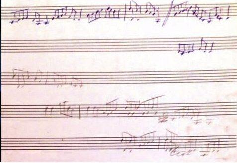 Lost in the Loop sheet music draft