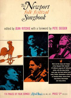 Newport Folk Festival songbook 1965