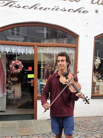 Obin fiddle in Mittenwald