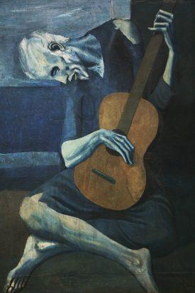 Old guitarist chicago sm