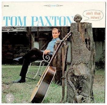 """cover of Tom Paxton's album """"Ain't That News!"""""""