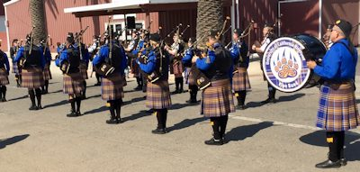 UC Riverside Pipe Band