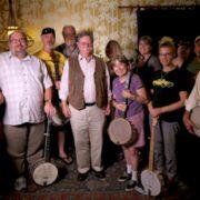 Bragger|Kirk Sutphin and Travis Stuart|Clarke Buehling and Tom Marion|Early Banjo Workshop|Workshop Students