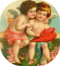free vintage valentines day clipart 26