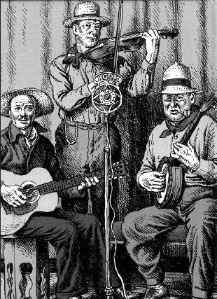 old time music trio