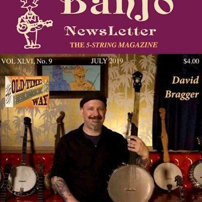 Banjo Newsletter July 2019 Bragger COVER crop for web 600x707