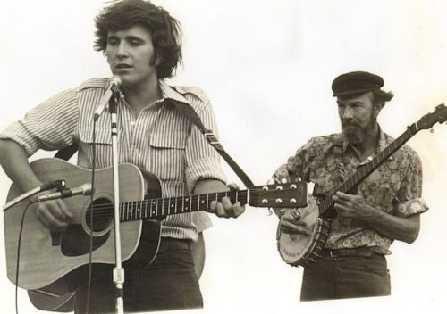 Don McLean with Pete Seeger