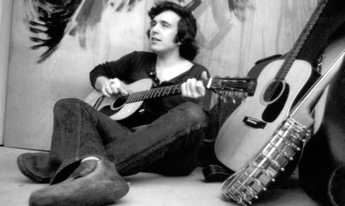 Don McLean with instruments