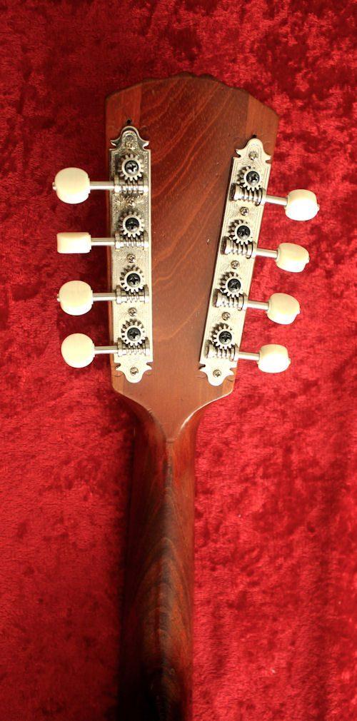 Marla mandolin peghead back