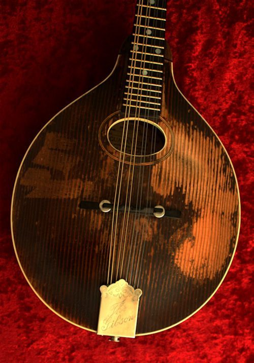 Marlas mandolin front body