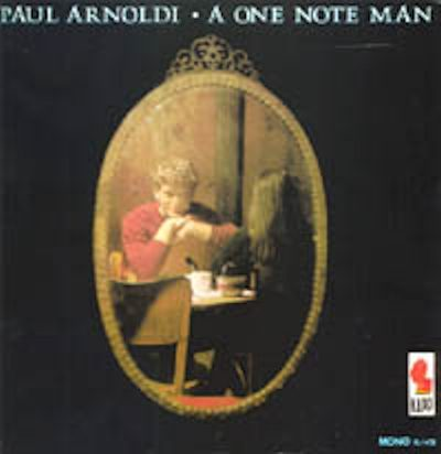 Paul Arnoldi Front Cover of One Note Man