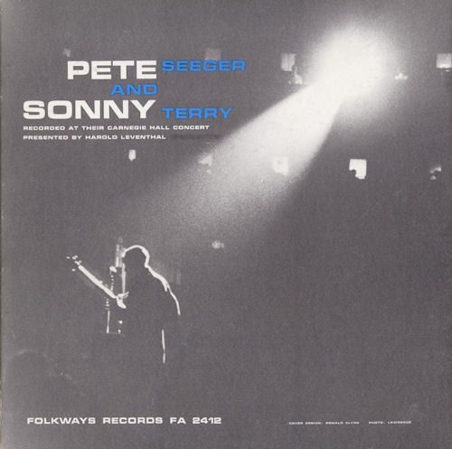Pete Seeger and Sonny Terry at Carnegie Hall