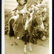 Joyce Woodson-Living the Western Dream Woodson - Girl on a Pony