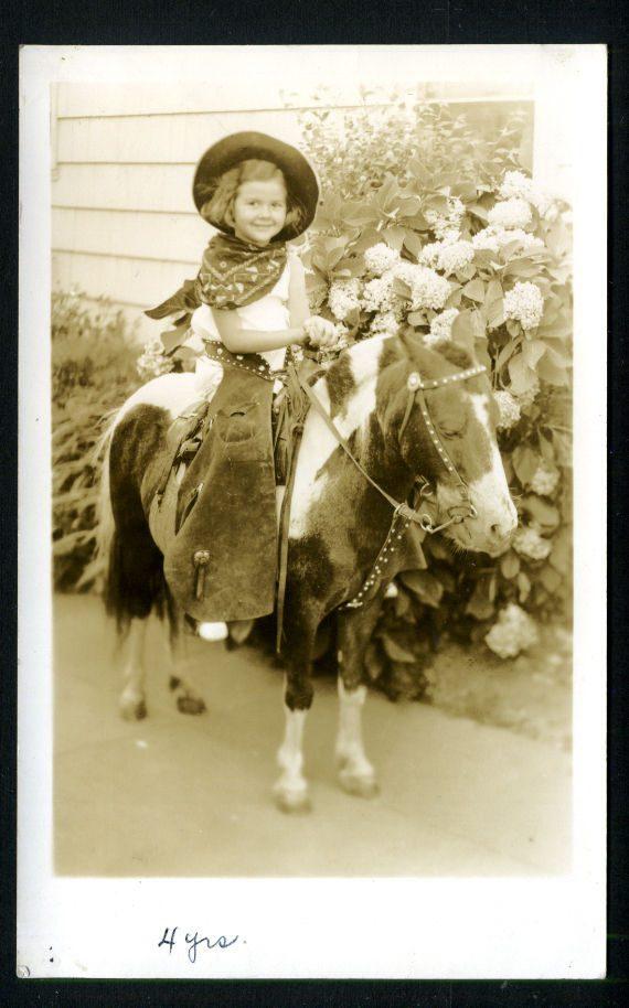 Woodson - Girl on a Pony